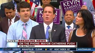 Mayor Catherine Pugh reacts to death of Kevin Kamenetz - Video