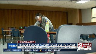 Braggs schools closed Monday due to illness