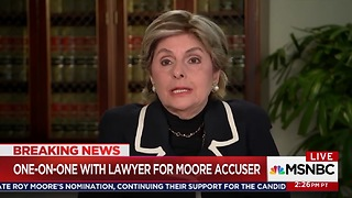 Gloria Allred: I Didn't Ask Accuser If She Saw Roy Moore Sign Her Year Book - Video