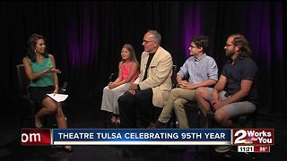 Theatre Tulsa showcasing two youth productions for 95th anniversary - Video