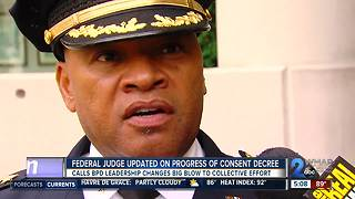 PROGRESS OF CONSENT DECREE SEARCH FOR COMMISSIONER - Video