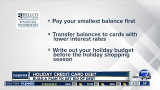 Financial Possibilities - Pay off Holiday Credit Card Debt