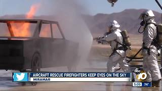 AIRCRAFT RESCUE FIREFIGHTERS