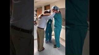 Just What The Doctors Ordered: Medics Smash Triangle Dance Challenge