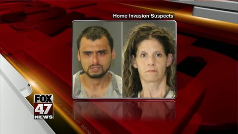 Would-be thieves caught in the act of home invasion