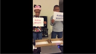 Kids fail to grasp surprise pregnancy announcement - Video