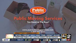 Moving company withholds family's belongings - Video