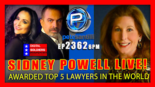 EP 2362-6PM SIDNEY POWELL LIVE WITH PETE SANTILLI