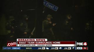 SWAT situation overnight in Lehigh Acres - Video
