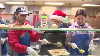 Community Christmas Meal at Las Vegas Rescue Mission
