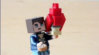 Lego Minecraft Parrot Tutorial