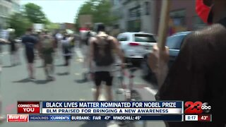 Black lives matter nominated for Nobel prize