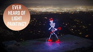 Skeletons come alive in this long exposure animation - Video