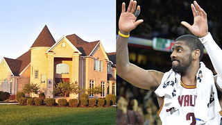Kyrie Irving Says GOODBYE to His Cleveland Home - Video