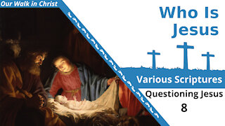 Who Is Jesus?   Questioning Jesus 8