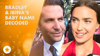 Bradley Cooper & Irina Shayk's baby girl revealed! - Video