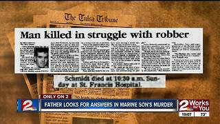 A father missing a piece of his heart after son's 1990 murder turned cold case - Video