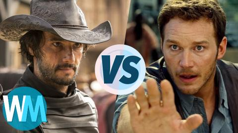 Check Out This Duel Between Westworld And Jurassic Park