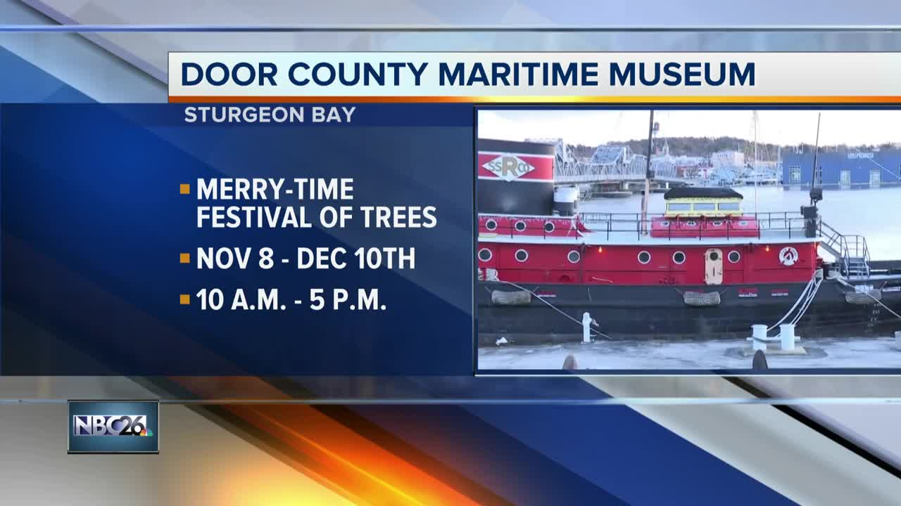 The Merry-Time Festival of Trees at the Maritime Museum