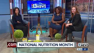 Three Square and Sunrise Children's Foundation talking about National Nutrition Month - Video