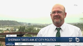 City Councilman Scott Sherman takes aim at city politics