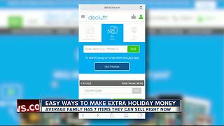 Easy ways to make extra holiday money
