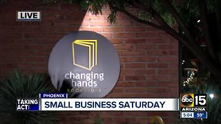 Local shops hoping to see customers on Small Business Saturday - Video