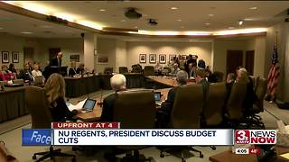 NU Board of Regents meet to discuss cutting budget - Video