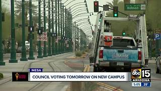 Council members considering a new campus in Mesa - Video