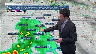 Saturday Night Weathercast