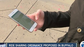 Ride sharing ordinance proposed in Buffalo - Video