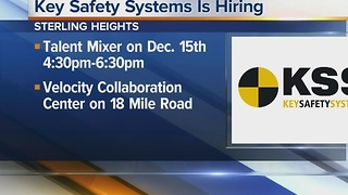 Workers Wanted: Key Safety Systems is hiring - Video