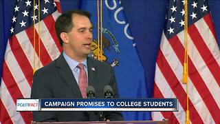 PolitiFact Wisconsin: Walker's promises to college students