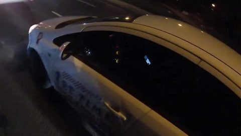 Driver of instructor's car caught on mobile phone