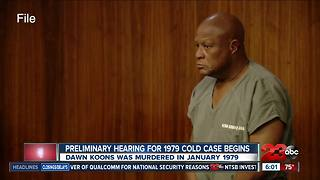 Preliminary hearing begins for 1979 cold case