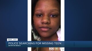 Missing child alert issued for 13-year-old Boynton Beach girl
