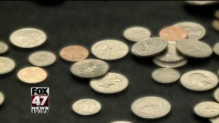 Crisis causes coin shortage