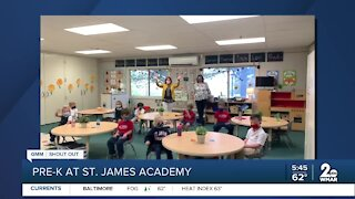 St. James Academy in Monkton says Good Morning Maryland!