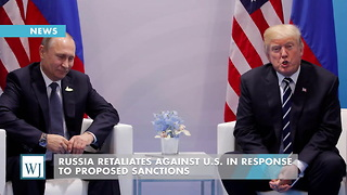Russia Retaliates Against U.S. In Response To Proposed Sanctions - Video