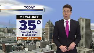Mostly sunny but cool Friday - Video