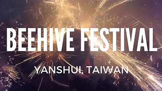 Taiwanese Fireworks Festival Has an Unusual Twist - Video