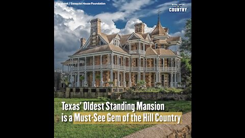 Texas' Oldest Standing Mansion is a Must-See Gem of the Hill Country