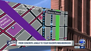 Project in the works to transform concrete jungle into renewed Upper Downtown Denver
