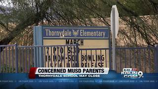 Marana Unified School District to discuss possible closure of elementary school - Video