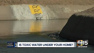 Is toxic water under your home?