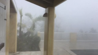 Ferocious Wind Blows Over St Thomas - Video