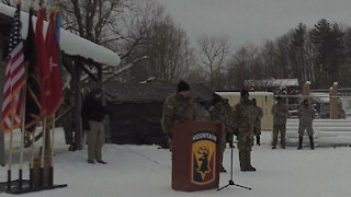Task Force Avalanche Sendoff Ceremony