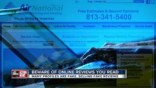 Fake reviews short circuits consumers' pick of where to do business - Video