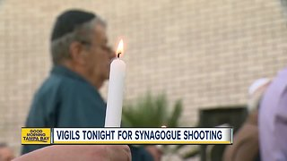 Tampa Bay Area community holds vigils for Pittsburgh Synagogue Victims