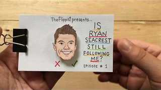 The Question on all of our Lips: Is Ryan Seacrest Following Me? - Video